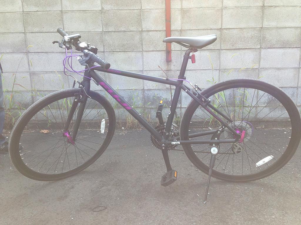 フジ自転車ロードバイク Palleteを買取