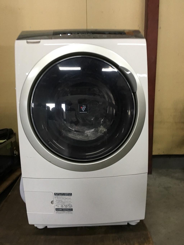 シャープ製のドラム式洗濯乾燥機(ES-2P1-NL)