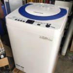 シャープ製造のヤマダ電機オリジナル洗濯機(ES-T706)