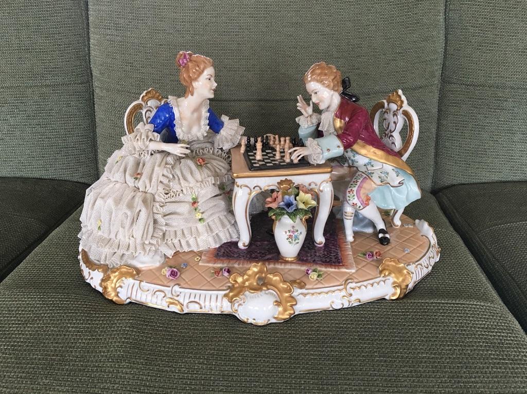 リヤドロの陶器人形
